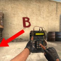 Как правильно ставить бомбу в CS GO?