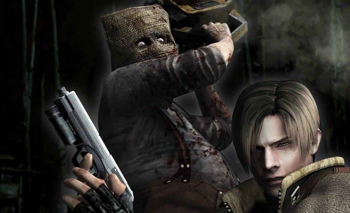 Resident Evil 4 как убить маньяка с бензопилой 1