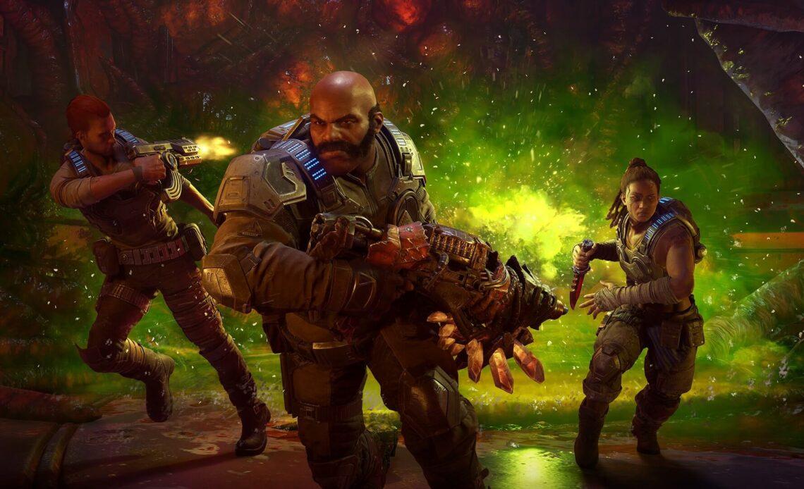 Gears 5 побег от смертельного врага