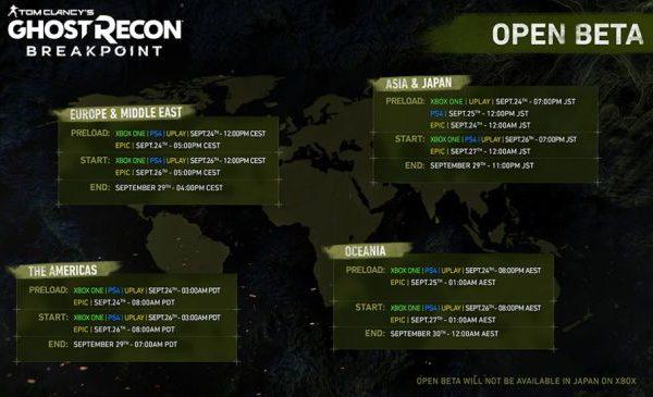 Ghost Recon Breakpoint open beta выходит на следующей неделе