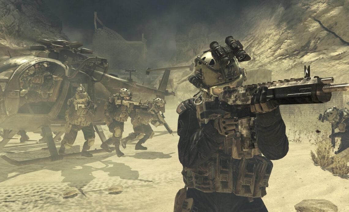 Call of Duty Modern Warfare карты