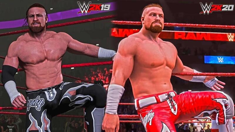 обзор WWE 2K20