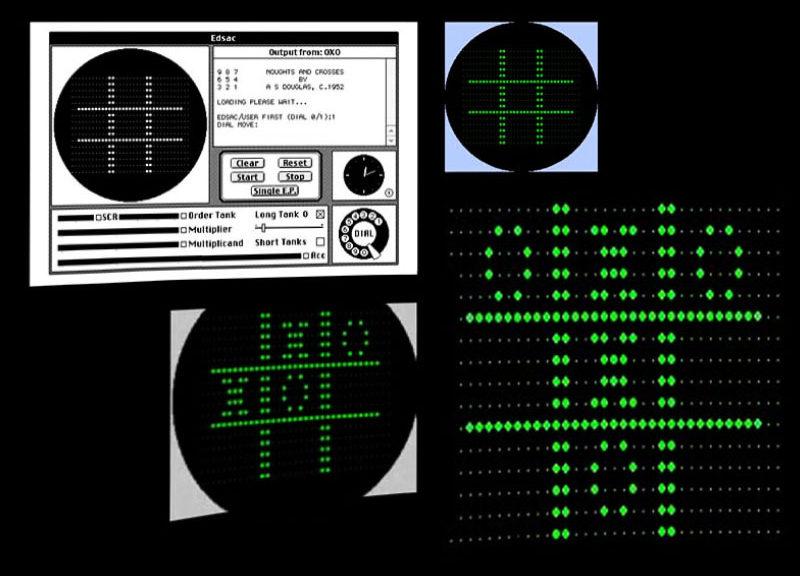 первая компьютерная игра TIC-TAC-TOE