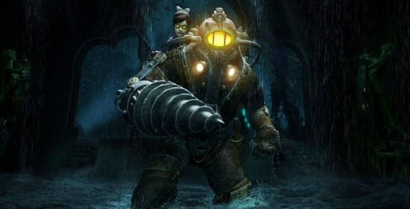 Как переключать плазмиды в BioShock