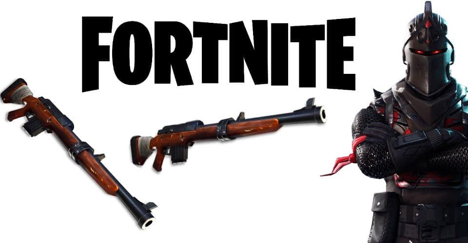 Где найти легендарную охотничью винтовку в Fortnite (2 сезон)