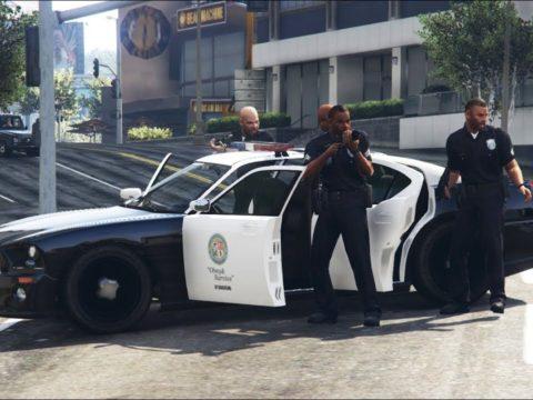 Grand Theft Auto 6 полицейская погоня за скорой помощью