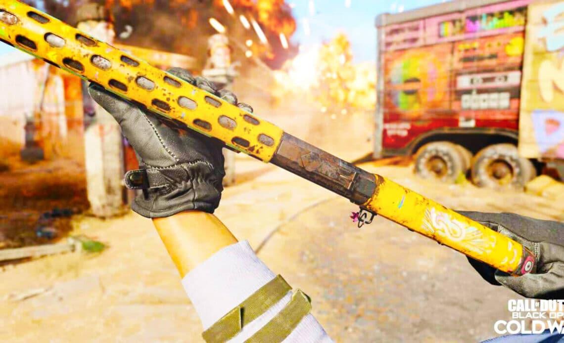 Как быстро повысить уровень оружия Call of Duty Black Ops Cold War