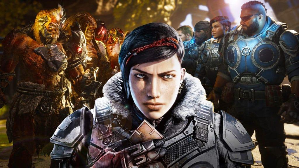 ТОП 10 игр для Xbox Series X Gears 5