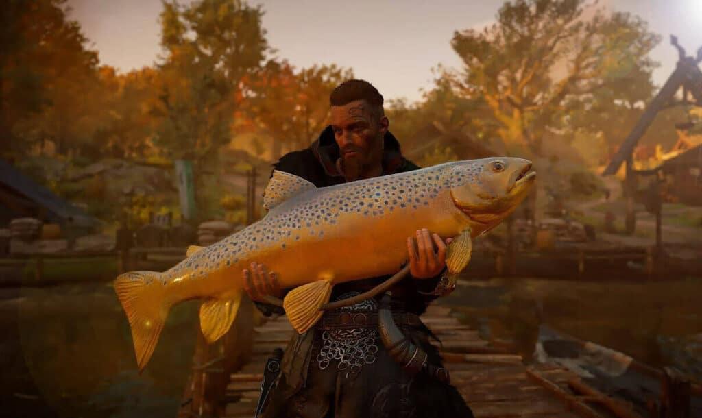 На что и как ловить рыбу в Assassins Creed Valhalla